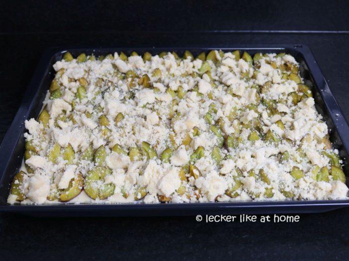 Zwetschen Buttermilch Blechkuchen