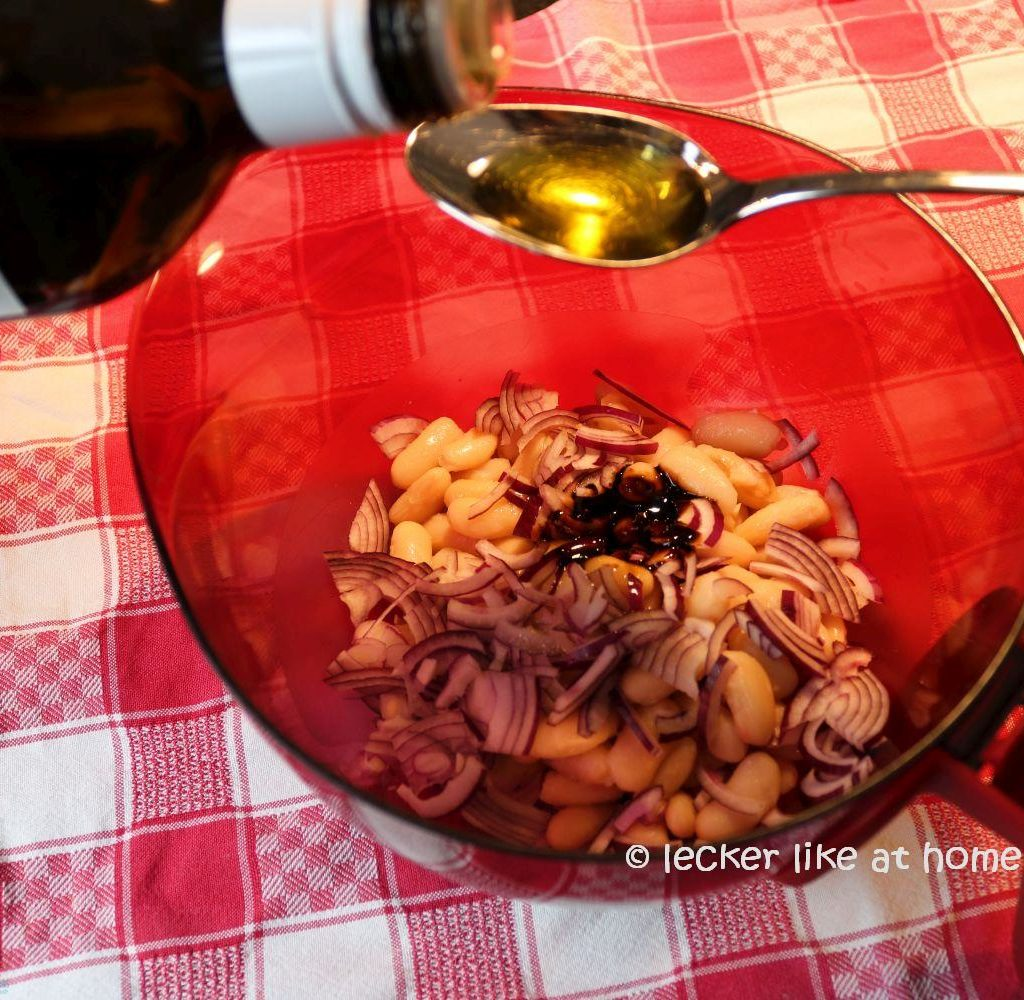 Thunfisch-Bohnen-Salat - Olivenöl