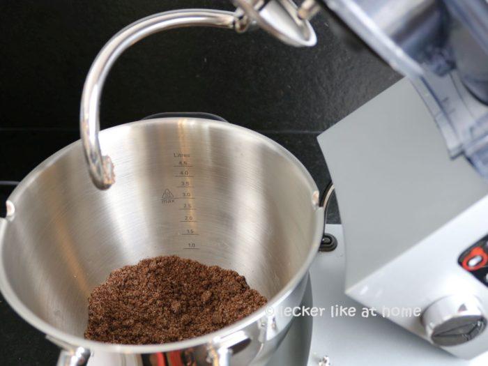 Zupfkuchen Muffins - Schoko Teig