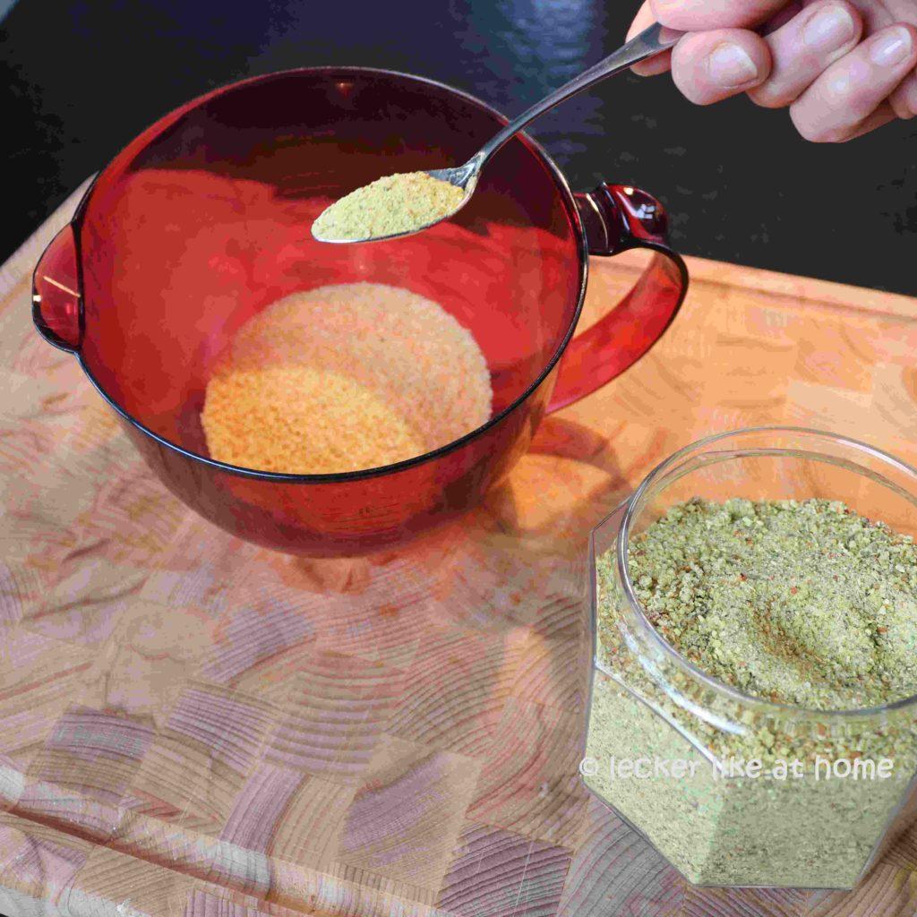 Gebackener-Butterkürbis-Bulgur-vorbereiten