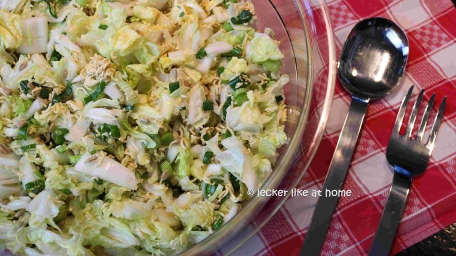 China Asia Salat - fertig
