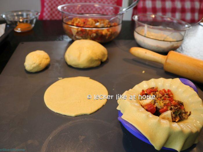 Empanadas - der Teig