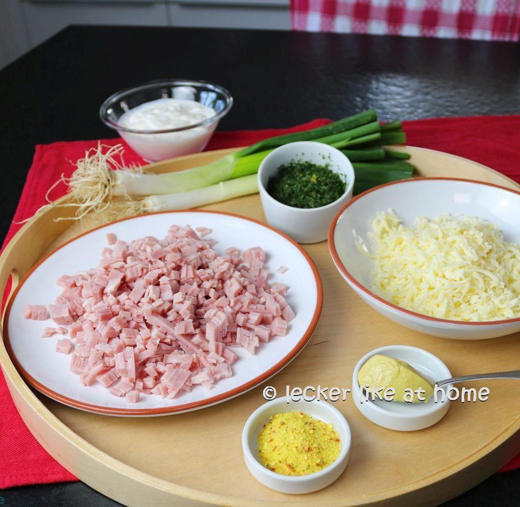 Kochschinken-Kräuterfüllung