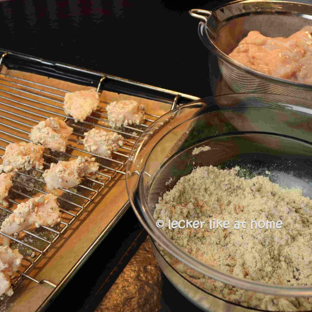 Ingwernuggets-11-Fleisch-panieren